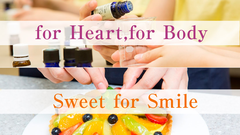 for Heart,for Body Sweet for Smile